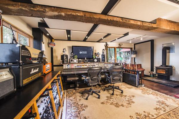 studio in the woods